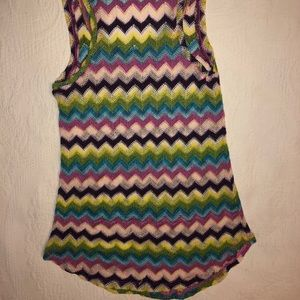 Colorful Knit Tank Top
